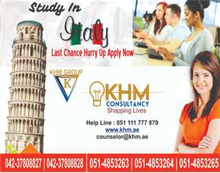 Italy the Land of opportunities. Study Without tuition Fees