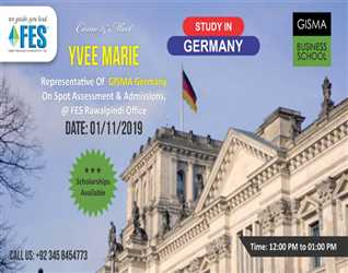 Study In GISMA Germany With FES Higher Education Consultants Pvt Ltd