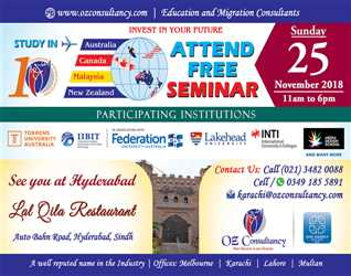 Attend Free Seminar @ Hyderabad, Lal Qila Restaurant