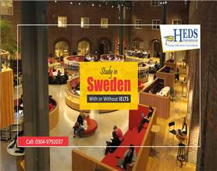 Study in Sweden - Apply without IELTS