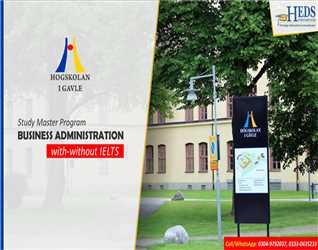 STUDY IN SWEDEN | Study English medium MBA program at Gavle University, Sweden