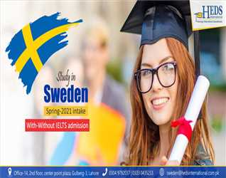 STUDY IN SWEDEN | APPLY WITH - WITHOUT IELTS