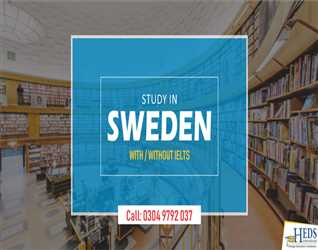 STUDY IN SWEDEN | APPLY WITHOUT IELTS