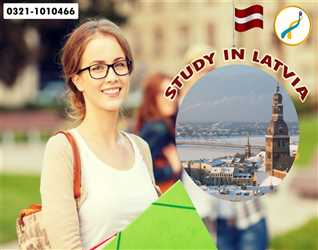 Study in Latvia-No IELTS-Low Bank Statement-Affordable fee
