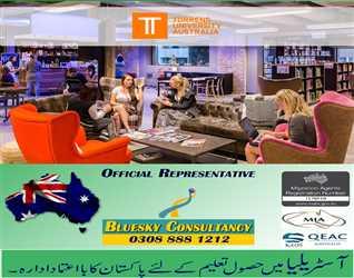 Get Admissions in Torrens University Australia through BLUESKY CONSULTANCY