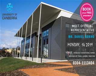 Meet University of Canberra (Australia) Official Representative Mr. Daniel Konno (Manager)