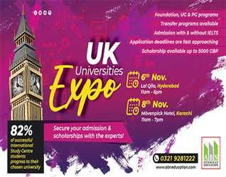 UK Universities Expo with ABN Overseas Education