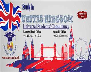 Study in UK. Admissions open for September  intake.