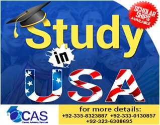 LAND OF OPPORTUNITIES STUDY IN USA WORLD WIDE RECOGNITION DEGREE BACHELORS & MASTERS PROGRAM AVAILABLE CONTACT 0335-832388, 0323-6308695