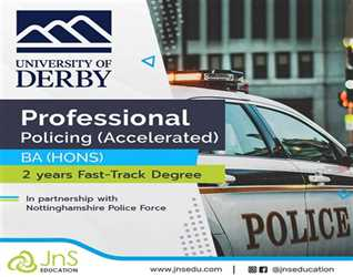 University of DERBy- Two years Fast-Track Degree