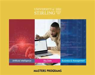 Interested in a Masters degree?  University of Stirling