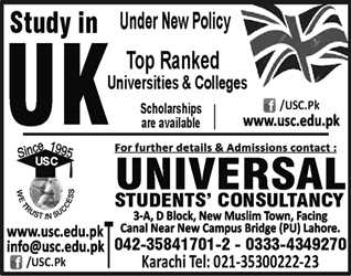 Study in UK. Scholarships are available.