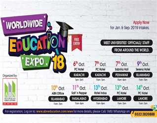 WORLDWIDE EDUCATION EXPO. 2018