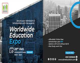 Worldwide Education Expo with ABN Overseas Education