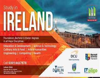 ABN Overseas Education:- Study in Irland