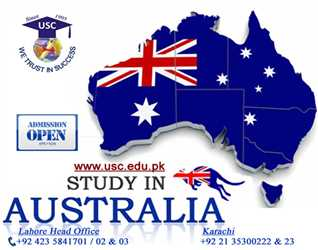 Study in Australia. Admissions open for UG and PG programs.