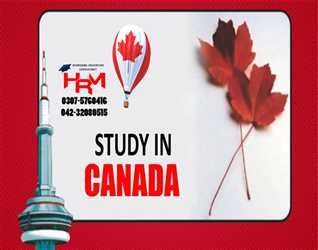 Study in Canada Through HRM Educational Consultancy