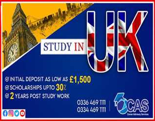 Study in UK with CAS Pakistan