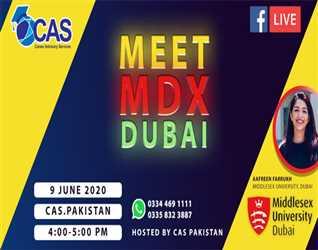 CAS Pakistan: Meet MDX Dubai