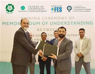 FES Higher Education Consultants join hands with the Hashoo Group of Hospitality and Management (HSHM) to promote hospitality and tourism management e