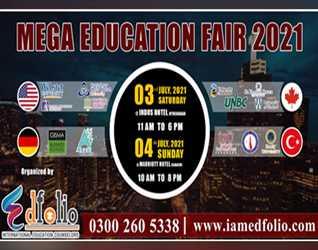 Mega Education Fair Twenty Twenty One