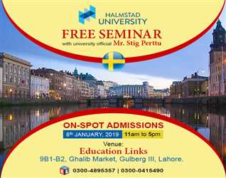 Free Seminar- on Spot Admissions