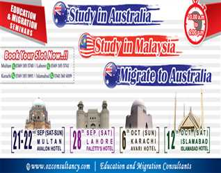 OZ Consultancy - Free Education & Immigration Seminar in Different Cities