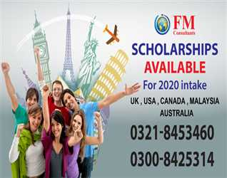 FM: Scholarships Available for Twenty Twenty intake