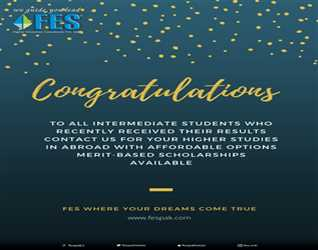 Congratulations to all Intermediate Students who recently received their results