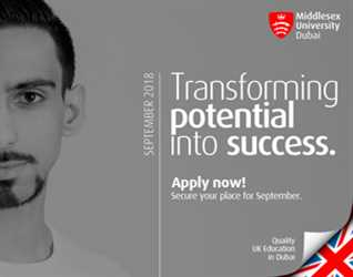 Middlesex University UAE: Direct Approach for Apply Now Secure Your Place for September, 2018- Advance Social Media Master Class