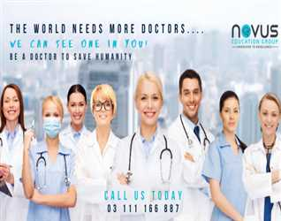 THE WORLD NEEDS MORE DOCTORS………