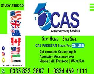 CAS PAKISTAN:- Stay Home- Stay Safe