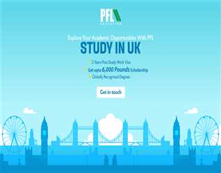 Register with PFL & Study in UK