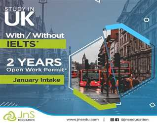 Study in UK with or Without IELTS January Intake