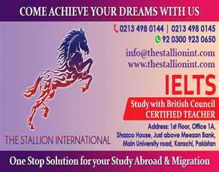 The Stallion International ! Come Achieve Your Dreams With Us