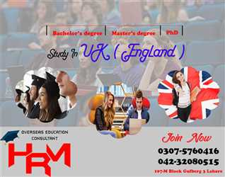 Study in UK (England) Without IELTS join HRM student solutions