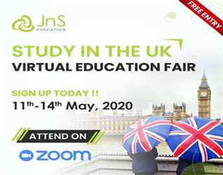 Virtual Education Fair with JnS Education Consultants