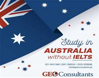 Geo Consultants:- Study in Australia without IELTS